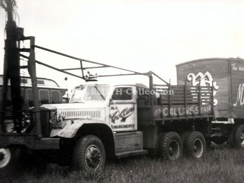 M A Collins' Tractor, M A Smith Collection,image