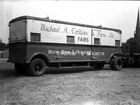 M.A Collins' Truck New Era Library,image