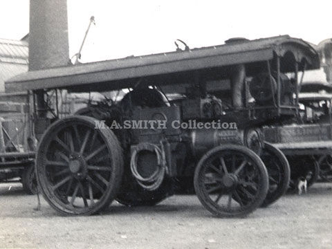 "John Collins' Burrell Showman's Engine	Farnworth July 1942	M A Smith Collection 2818 ""The Albert"",image"