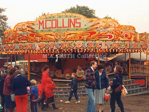 M.A Collins Orton Ark, Nottingham Goose Fair, October 1981, M.A.Smith Collection,image
