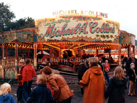 M A Collins' first Maxwell Waltzer, Nottingham Goose Fair,	October 1977, M A Smith Collection,image