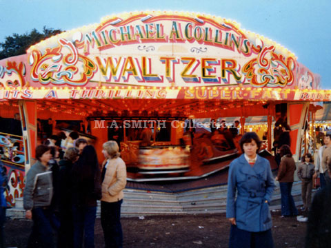 M.A Collins 2nd Maxwell Waltzer, Nottingham Goose Fair, October 1980, M.A.Smith Collection ,image