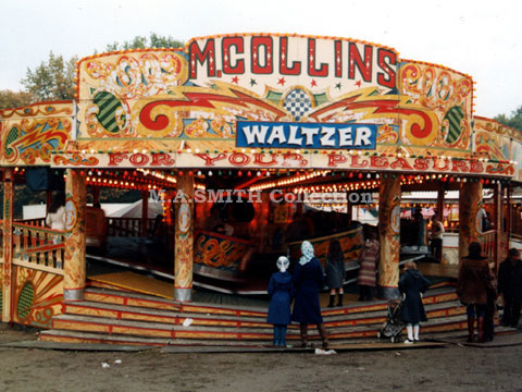 M.A Collins 3rd Maxwell Waltzer, Nottingham Goose Fair, October 1982, M.A.Smith Collection,image