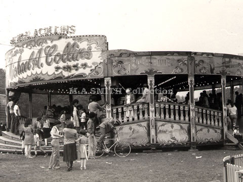 M A Collins' first Maxwell Waltzer, Sefton Park, Liverpool June 1976, M A Smith Collection,image