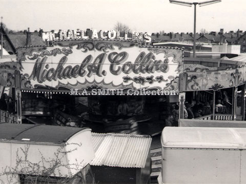 M A Collins' first Maxwell Waltzer, Altrincham, April 1978, M A Smith Collection,image