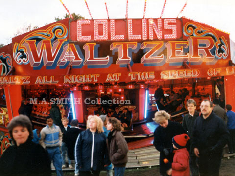 John Collins Maxwell Waltzer Nottingham Goose fair, October 1988, M.A.Smith Collection,image